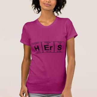El suyo (el suyo) - por completo camisetas