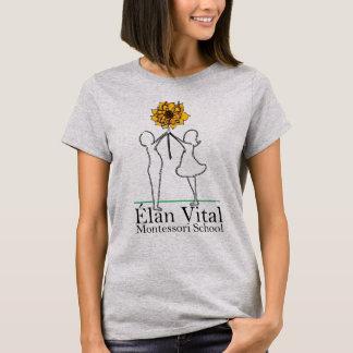El T básico de las mujeres del EVM Camiseta