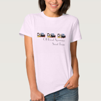 El T cabido de Ladie - del equipo del explorador Camiseta