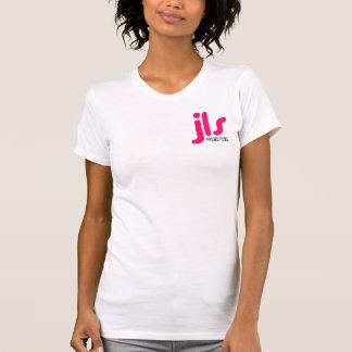 El T de las mujeres del logotipo de JLS Camisetas