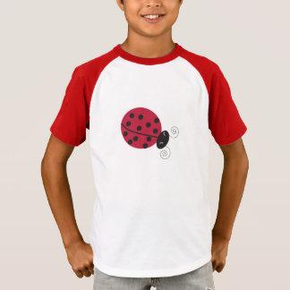 El T de los niños afortunados de la señora insecto Camiseta