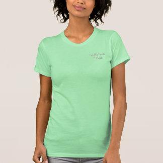 """El T menudo de las mujeres de la """"sandía"""" Camisetas"""