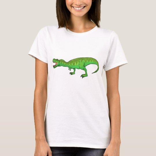 ¡El T-Rex poderoso que ruge con orgullo! Camiseta