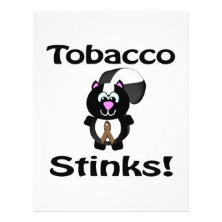 El tabaco apesta diseño de la conciencia de la mof tarjetón