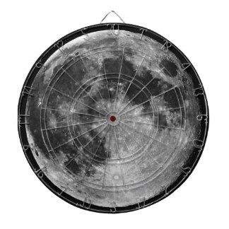 El tablero de dardo de la luna