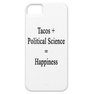 El Tacos más ciencia política iguala felicidad iPhone 5 Case-Mate Protector