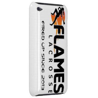 el tacto de iPod flamea el caso de LaCrosse iPod Touch Protectores