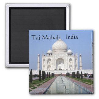 El Taj Mahal, Agra, la India Imán De Nevera