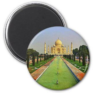 El Taj Mahal la India Imanes