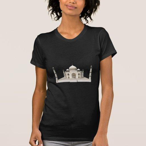 El Taj Mahal: modelo 3D: Camiseta