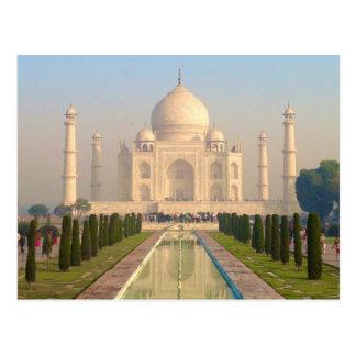 El Taj Mahal Postal