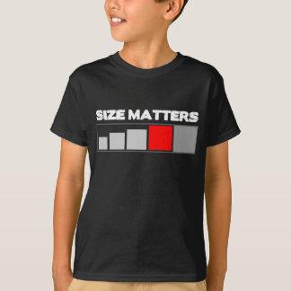 El tamaño importa Geocache Camiseta
