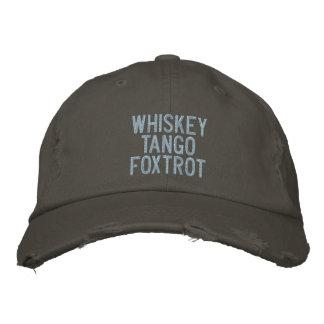 El tango del whisky Foxtrot el gorra experimental