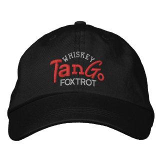 El tango del whisky Foxtrot gorra del bordado