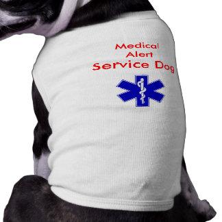El tanque alerta médico del perro del servicio