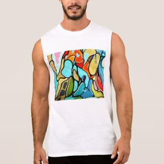 el tanque de la pintada camisetas sin mangas