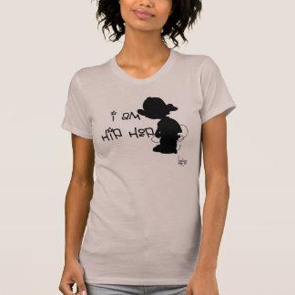 El tanque de la revolución de las señoras Hip Hop Camiseta