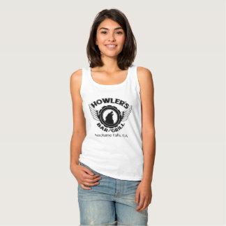 El tanque de las señoras del chillón camiseta con tirantes