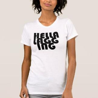 El tanque de las señoras del REVESTIMIENTO de Camiseta
