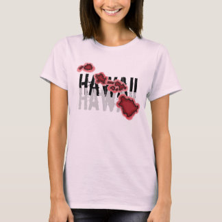 El tanque de los chicas de las islas hawaianas camiseta