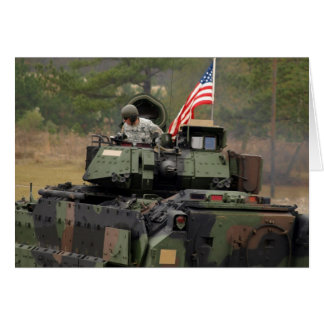 el tanque de los E.E.U.U. Tarjeta De Felicitación