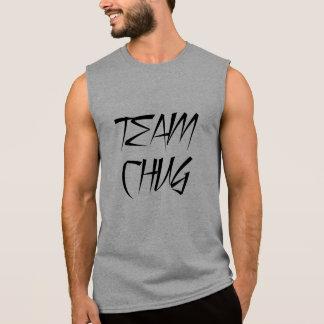 El tanque del Chug de la roca del fiesta de Bro Camisetas Sin Mangas