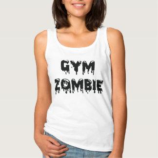 El tanque del zombi del gimnasio camiseta con tirantes