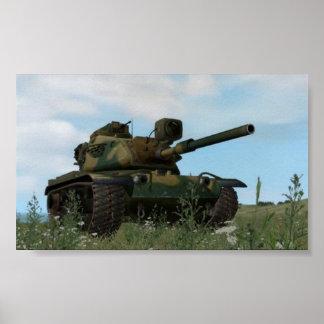 El tanque M60 Póster