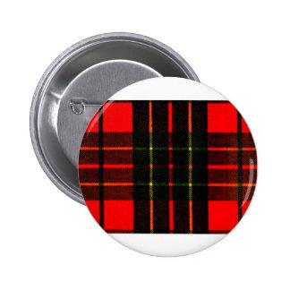 el tartán del jGibney colorea Brodie el GIF de Chapa Redonda De 5 Cm