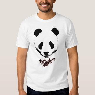 El té de la panda camiseta