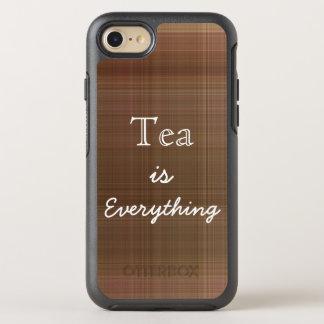 El té es todo tela escocesa funda OtterBox symmetry para iPhone 7