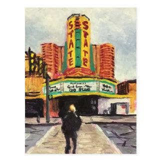 El teatro Ann Arbor del estado Postal