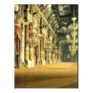 El teatro de la ópera, el salón, obra clásica de postal