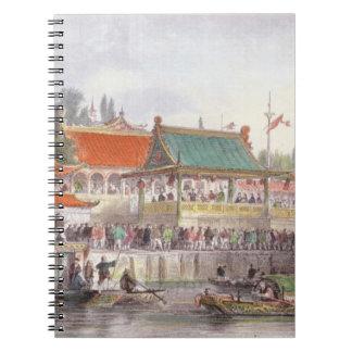 El teatro en Tien-Canta, de 'China en una serie de Libros De Apuntes