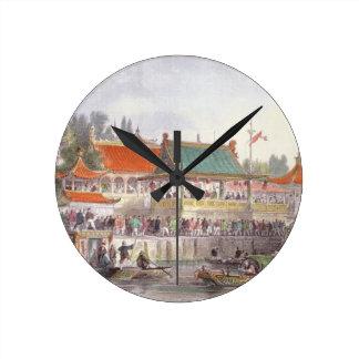 El teatro en Tien-Canta, de 'China en una serie de Relojes De Pared