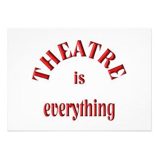 El teatro es todo comunicado
