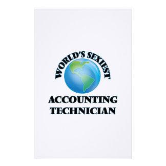 El técnico más atractivo de la contabilidad del papeleria