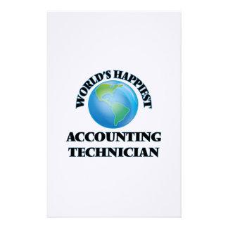 El técnico más feliz de la contabilidad del mundo papeleria