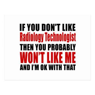 El tecnólogo de la radiología no tiene gusto de postal