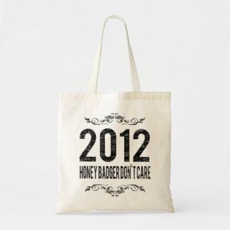 El tejón 2012 de miel del vintage no cuida bolsa