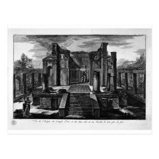 El templo de ISIS de face, con las dos alas Postal