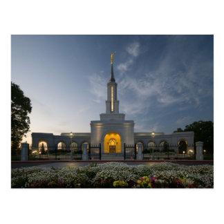 El templo de Sacramento California LDS Postal