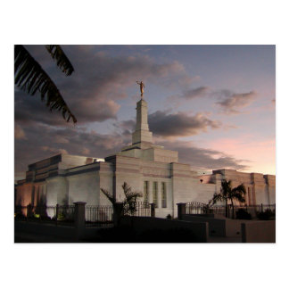 El templo de San José Costa Rica LDS Postal