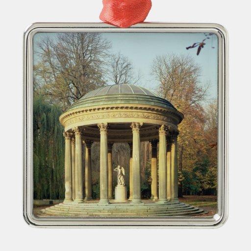 El templo del amor en el Parc du Petit Ornaments Para Arbol De Navidad