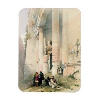 El templo llamó el EL Khasne, Petra, el 7 de marzo Imán Flexible