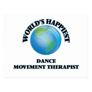 El terapeuta más feliz del movimiento de la danza postal
