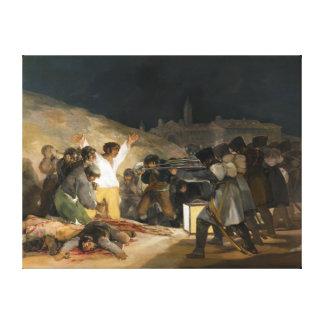 El tercero de mayo de 1808 de Francisco Goya Lienzo Envuelto Para Galerias