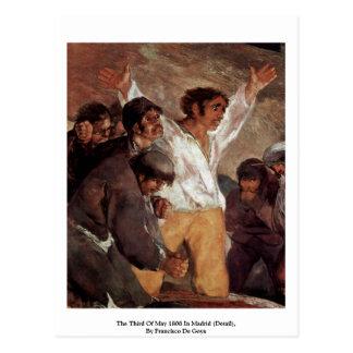 El tercero de mayo de 1808 en Madrid (detalle) Postales