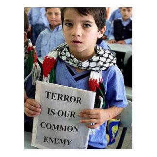 El terror es nuestra postal enemiga común
