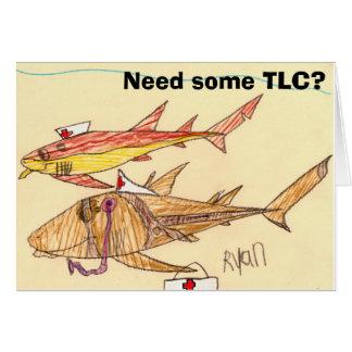 El tiburón de enfermera consigue la tarjeta de